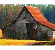 Charming Rural Barn Photographic Print