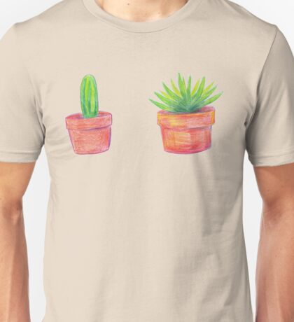 aloe and cactus Unisex T-Shirt