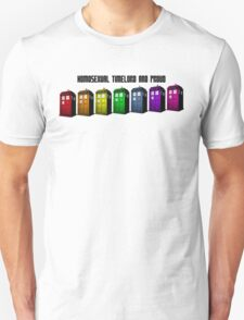 Homosexual Timelord and Proud Unisex T-Shirt