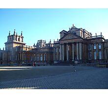 Blenheim Palace Photographic Print