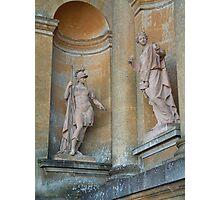 Blenheim Statues Photographic Print