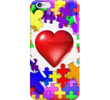 Love breaks through iPhone Case/Skin