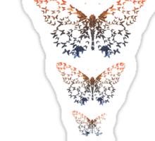 Butterfly Spine Sticker