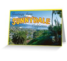Sunnydale Postcard Greeting Card