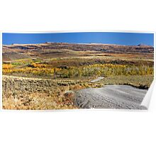 Fall in the South Eastern Oregon Poster