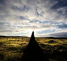 Callanish 2 at dawn by David Robinson