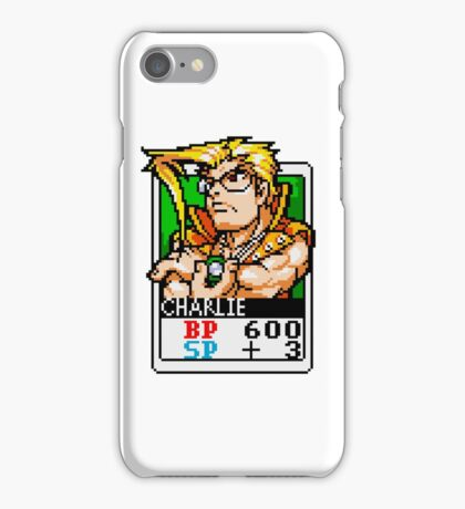 Charlie Nash - Street Fighter iPhone Case/Skin