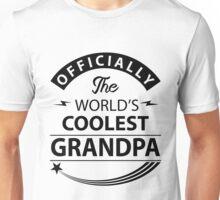 The World's Coolest Grandpa Unisex T-Shirt
