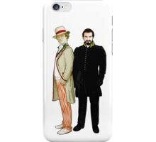 Doctor Who - 5th Doctor and The Master iPhone Case/Skin