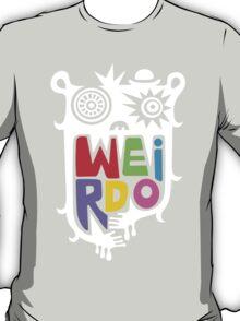 Big Weirdo - on black T-Shirt