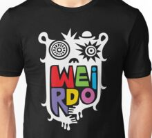 Big Weirdo - on black T-Shirt
