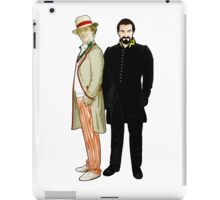 Doctor Who - 5th Doctor and The Master iPad Case/Skin