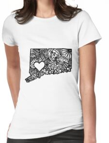 CT_LOVE Womens Fitted T-Shirt
