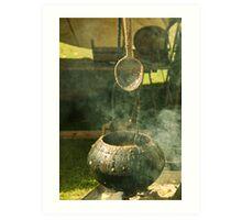 Vikings' Soup Art Print