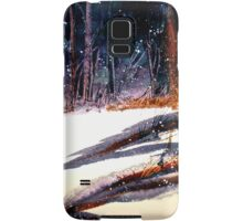 Landscape...On a Snowy Evening Samsung Galaxy Case/Skin