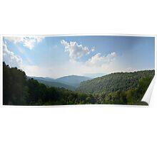 Blue Ridge Parkway 4 Poster