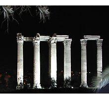 Athens at Night Photographic Print