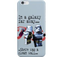 In a galaxy..there was a clean wall by #fftw iPhone Case/Skin