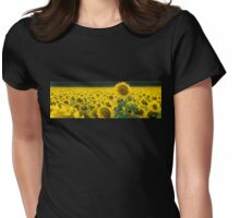Stand Tall - Don't be one of the crowd - Clifton Qld Australia Womens Fitted T-Shirt