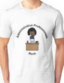 Administrative Professionals Rock (African American) T-Shirt