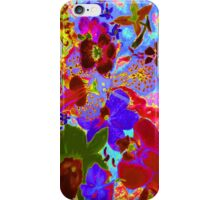 Orchid neon rich glow iPhone Case/Skin