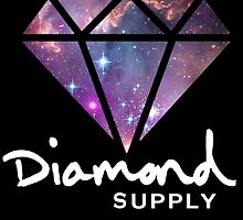 Diamond Supply Galaxy Diamond by ikillwithnostyl