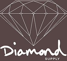 Diamond Supply Simple Diamond by ikillwithnostyl
