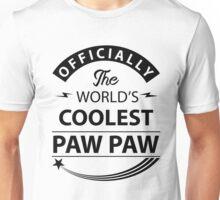 The World's Coolest PawPaw Unisex T-Shirt