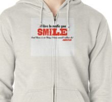I love to make you smile - Markiplier Zipped Hoodie