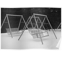 Snow Swings Poster