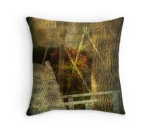 Sweet Memories of Yesterday Throw Pillow