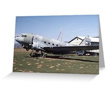 DC-3 Greeting Card