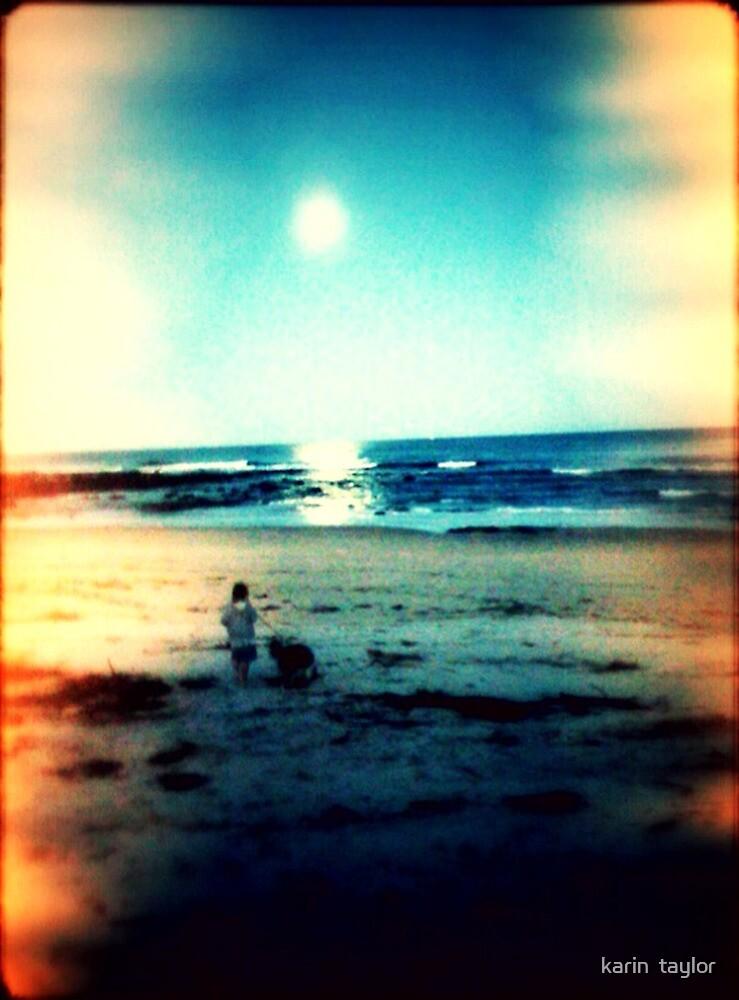 Twilight Beach by karin  taylor