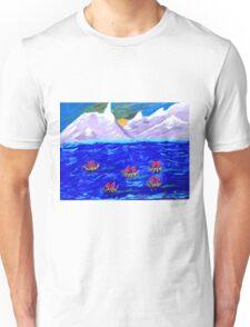 The Voyage Acrylic Painting Unisex T-Shirt