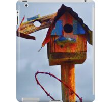 Barbed Wire Baffle iPad Case/Skin