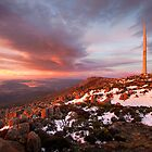 From Mt Wellington by Mike Calder