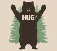 Bear Hug (Light) T-Shirt by Fanboy30