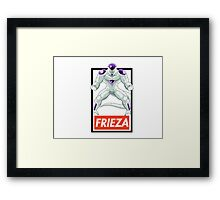 Frieza: Obey Fury Framed Print