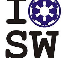 I (heart) Star Wars - Empire by flip20xx