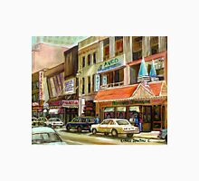 VINTAGE MONTREAL DOWNTOWN STREET SCENE ST.CATHERINE STREET Unisex T-Shirt