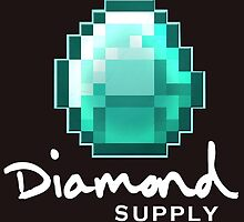 Diamond Supply Minecraft Diamond by ikillwithnostyl