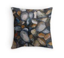 Pebbles Throw Pillow
