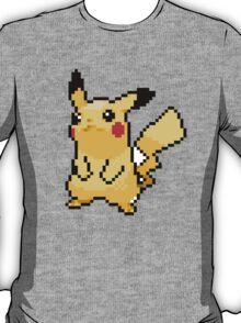 Pikachu in Pixels T-Shirt