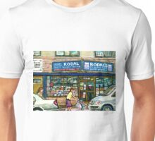 THE JEWISH STREET MONTREAL GIFT STORE RODAL Unisex T-Shirt