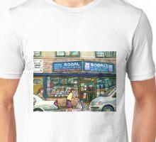 THE JEWISH STREET MONTREAL GIFT STORE RODAL Unisex T-Shirt