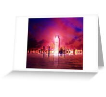 Glimmer City Greeting Card