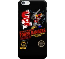 8-bit Power Rangers iPhone Case/Skin