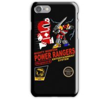 8-bit Power Rangers iPhone Case/Skin
