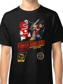 8-bit Power Rangers Classic T-Shirt