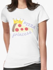 Pizza Princess Womens Fitted T-Shirt